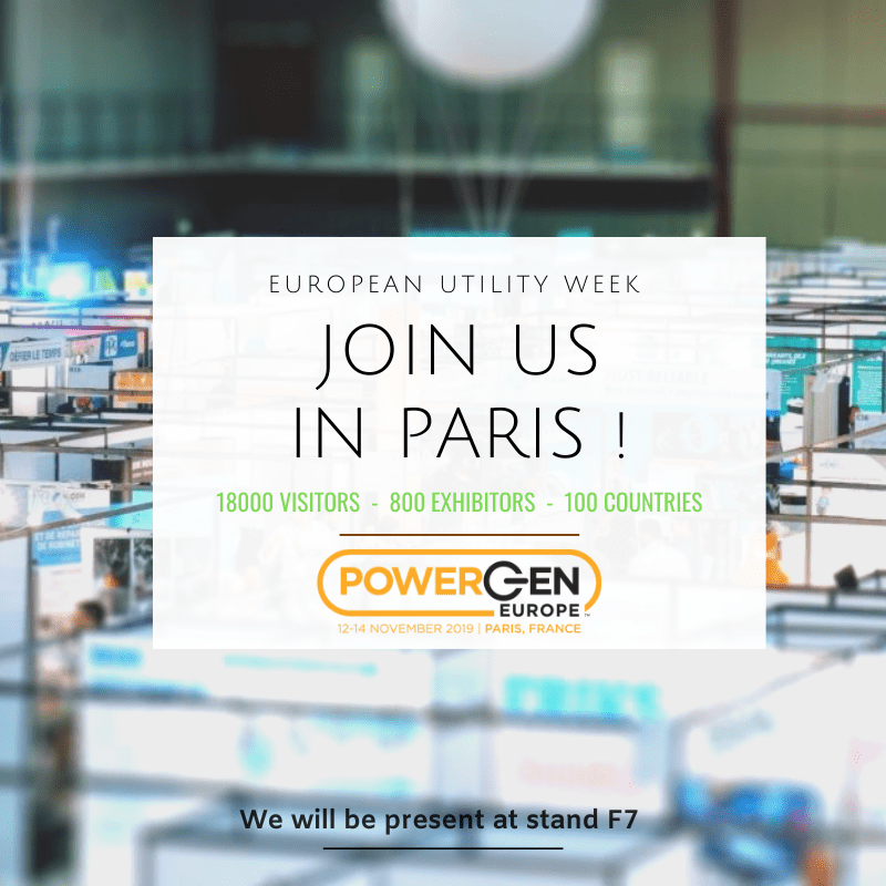 Salon POWERGEN Paris 2019